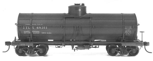 Ho 10,Gal Tank Car 60dome Kit, Tichy Train Group Item Number TTG4025