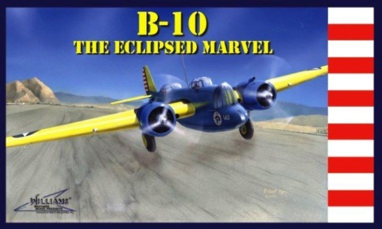 B-10 The Eclipsed Marvel 1:72, Williams Brothers Model Products Item Number WIL72510
