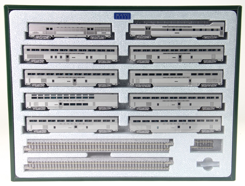 N Emd Fp7A & F7B 90A/90B w/DCC by Kato Precision Railroad Models item number: KAT1060431D