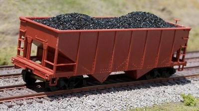HO Coal Loads 2-Bay Hop Bow