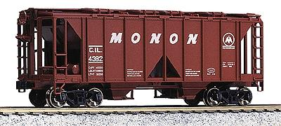 Ho Cvd Hopper 3-Car Kit Monon, Kato Precision Railroad Models, Item Number KAT380204