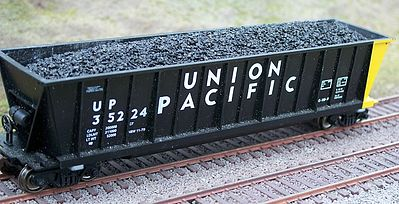 HO Coal Load for Athearn/MDC 50 Bathtub Gondola